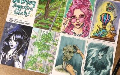 Daily Drawings – Patreon Suggestion Week